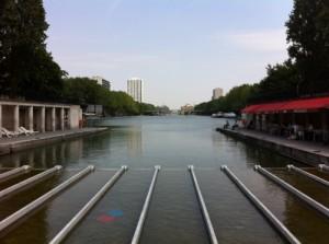 Ballade sur le canal saint martin