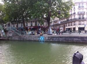 Ballade sur le canal saint martin 6