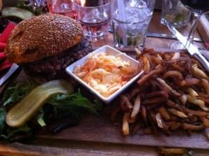 Burger - Le club des 5
