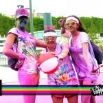 The color run Paris 2014 Faaitoito Team